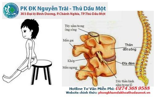 Kéo duỗi xương sống giúp giảm bớt mệt mỏi phần lưng.