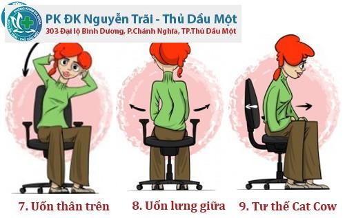 9 bài tập dành cho dân văn phòng XUA TAN mệt mỏi và bệnh tật 7_8_9