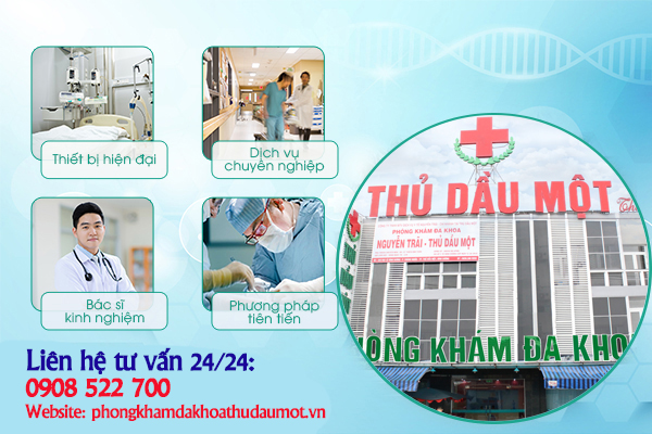 Phá thai 4 tuần bằng thuốc hiệu quả ở Đa khoa Nguyễn Trãi - Thủ Dầu Một