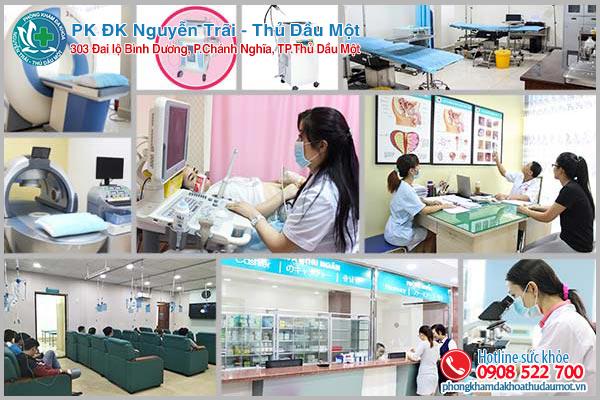 Đa khoa Nguyễn Trãi - Thủ Dầu Một phòng khám viêm âm đạo hiệu quả ở Bình Dương