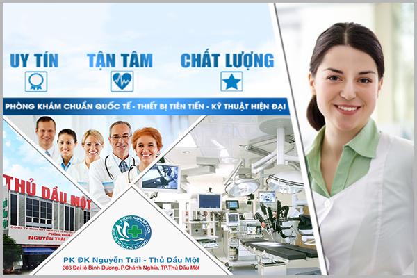 Đa khoa Nguyễn Trãi - Thủ Dầu Một địa chỉ chữa vô sinh an toàn hiệu quả tại Bình Dương