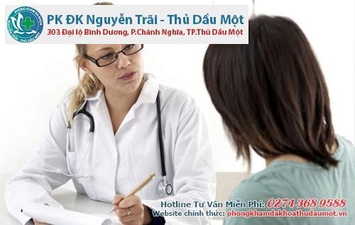Điều trị viêm cổ tử cung ở đâu Thủ Dầu Một?