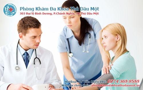 Cách điều trị bệnh chỉ được đưa ra sau khi thăm khám phụ khoa