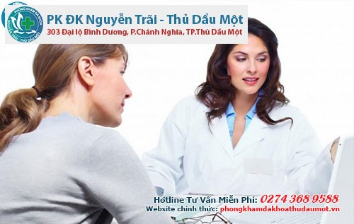 Hỗ trợ chữa viêm lộ tuyến cổ tử cung tại phòng khám Thủ Dầu Một