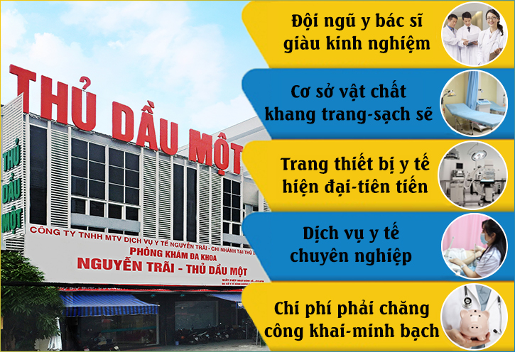 Đa khoa Nguyễn Trãi - Thủ Dầu Một địa điểm phá thai Bình Dương an toàn, không đau