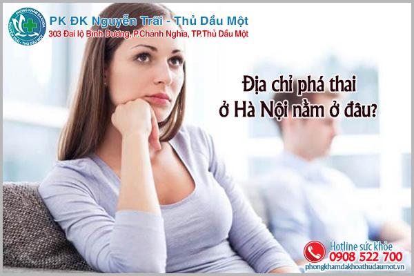 Địa chỉ phá thai ở Hà Nội nằm ở đâu?