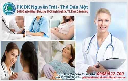 Địa chỉ phòng khám phá thai an toàn ở Bình Phước đó là Phòng khám Nguyễn Trãi - Thủ Dầu Một