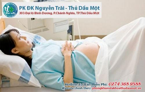 Thai 6 tuần tuổi phá bằng cách nào?