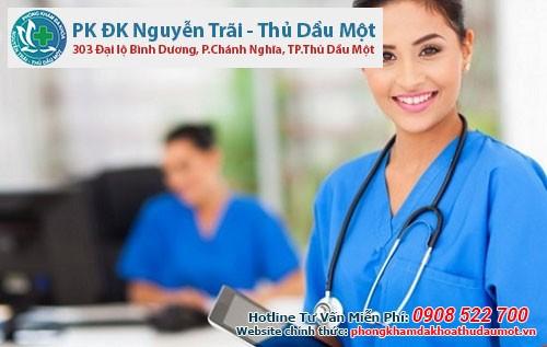 Phòng khám Đa khoa Nguyễn Trãi - Thủ Dầu Một - Bệnh viện phòng khám phá thai không đau ngoài giờ