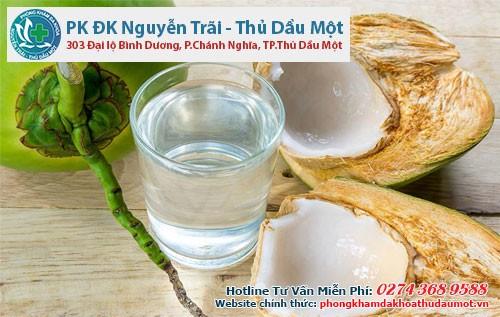 Phá thai bằng uống nước dừa