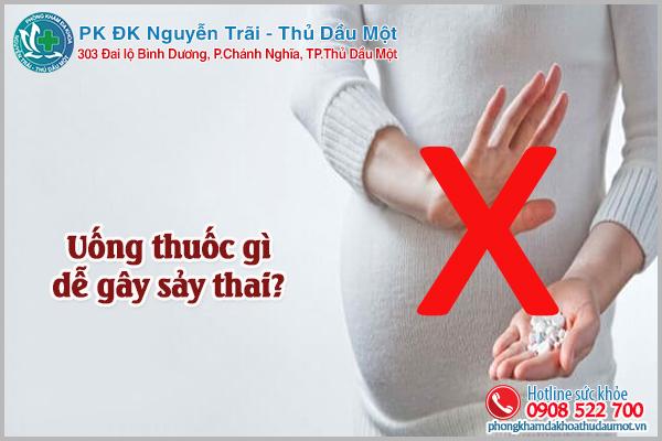 Uống thuốc gì dễ bị sảy thai và những lưu ý cần phải biết