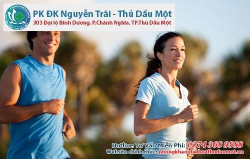 Tập thể dục thường xuyên tăng cường sức khỏe