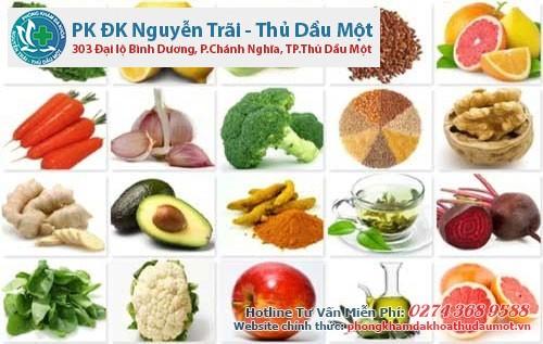 Thực phẩm tốt cho người mắc bệnh viêm tử cung