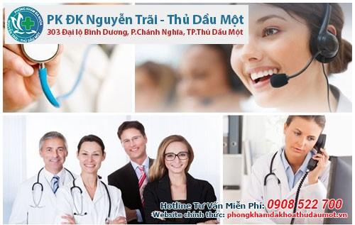 Phòng khám Đa khoa Nguyễn Trãi - Thủ Dầu Một là nơi khám trị bệnh phụ khoa