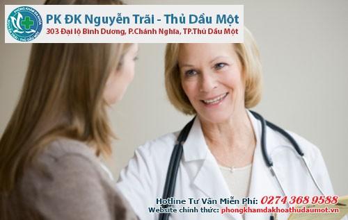 Điều trị viêm âm đạo an toàn tại Đa khoa Thủ Dầu Một