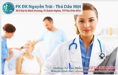 Tại phòng khám có đội ngũ y bác sĩ giỏi và kinh nghiệm lâu năm