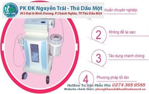 Phòng khám áp dụng O3 oxygen vào điều trị viêm âm đạo