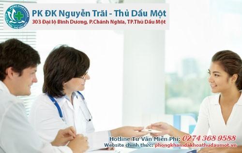 Phòng khám Nguyễn Trãi - Thủ Dầu Một điều trị bệnh mang lại hiệu quả cao