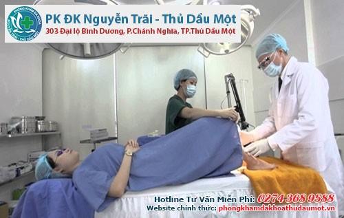 Cách chữa viêm lộ tuyến cổ tử cung hiệu quả bằng tây y