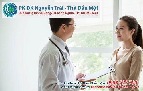 Điều trị nang naboth cổ tử cung hiệu quả tại Đa khoa Nguyễn Trãi - Thủ Dầu Một