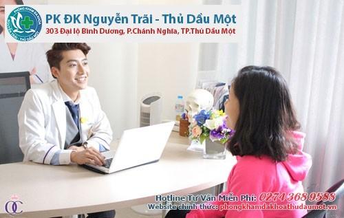 Quy trình khám và điều trị bệnh viêm cổ tử cung Thủ Dầu Một
