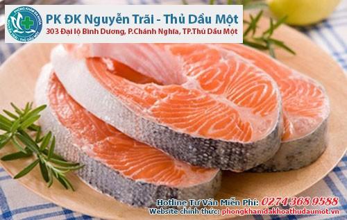 Bị viêm lộ tuyến cổ cung nên ăn gì đó là thực phầm giàu omega -3