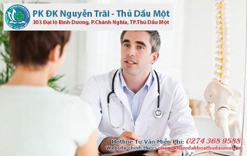 Điều trị bệnh viêm cổ tử cung tại  phòng khámThủ Dầu Một