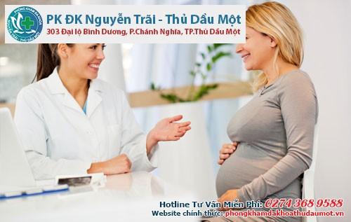 Viêm lộ tuyến cổ tử cung khi đang mang thai