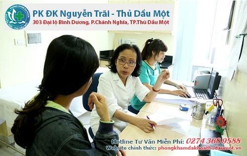 Quy trình khám viêm ống dẫn trứng Bình Dương - Bình Phước