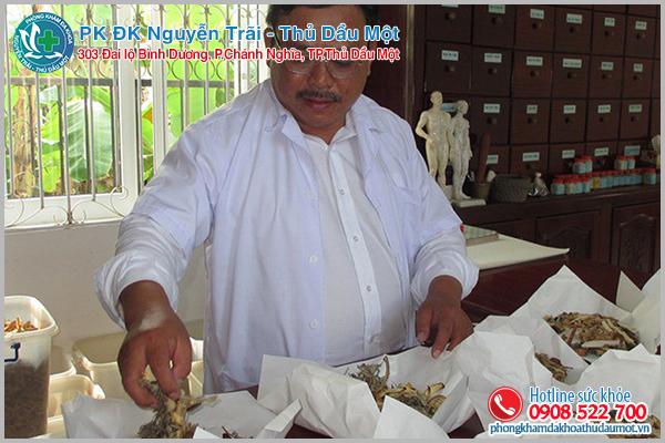 Lương y Nguyễn Phú Lâm chữa bệnh vô sinh nổi tiếng miền Tây